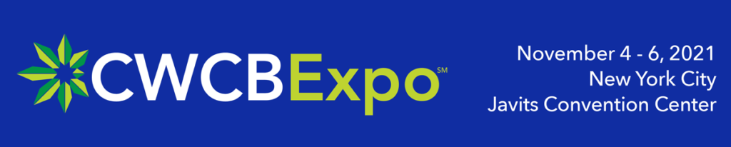CWCBExpo NY 2021 Date Banner Blue